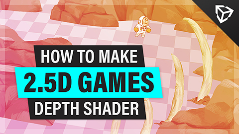 Creating 2.5D Games in Unity, Part 2 – Depth Shader